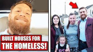 Conor McGregor builds houses for homeless families, Cormier says he'll 'break' Stipe, Volkanovski
