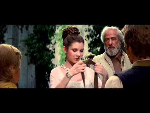 Crmonie finale, extrait de Star Wars : Episode IV - Un nouvel espoir (La Guerre des toiles) (1977)