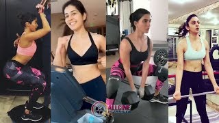 South Indian Actresses Gym Workout Videos | Allcinegallery