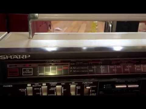 Sharp GF-700 Boombox Ghettoblaster for sale Chicago $125 + ship boomboxbryan62@gmail.com