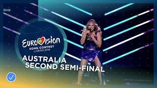 Jessica Mauboy - We Got Love - Australia - LIVE - Second Semi-Final - Eurovision 2018
