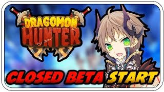 CLOSED BETA START - DRAGOMON HUNTER #001 - Let's Play Dragomon Hunter - Deutsch German - Dhalucard