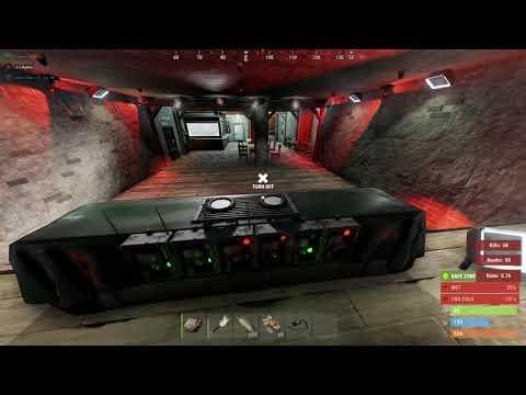 Rust light show test | Avicii - Seek Bromance