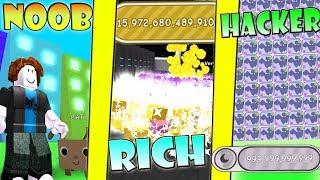 NOOB vs RICH vs HACKER - Pet Simulator