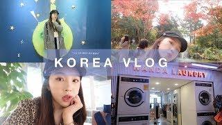 韓國VLOG🍁超充實的六天五夜/一個人逛明洞/3CE粉紅飯店 | heyitsmindy