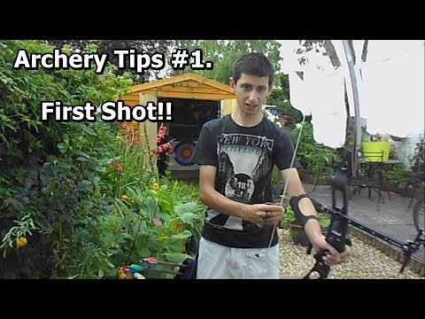 1. Archery Tutorial (FOR BEGINNERS) Lesson 1: First Shot [HD]