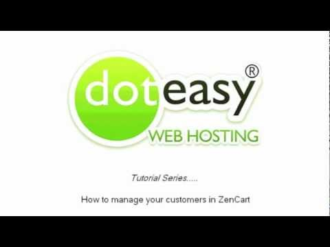 0 How to manage Customers info in Zen Cart
