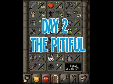 Day 2 - Monkey Madness Failure - The Pitiful Old School Runescape