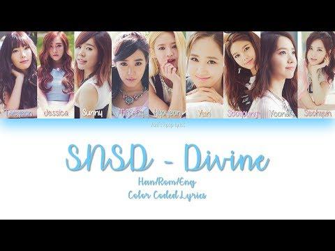 Girls' Generation (少女時代)  SNSD - Divine JAP/ROM/ENG