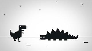 T-Rex Chrome Game 100% 🦖   Dinosaur Dash by CapnColbyCube   SirKaelGD
