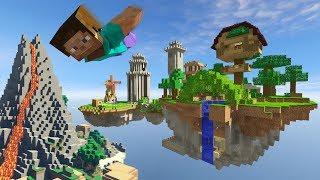 ผจญภัยแดนลาวาและเกาะลอยฟ้ามหัศจรรย์ (GTA 5 Mods)