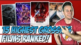 Top 15 Highest Grossing Blockbusters Ranked!