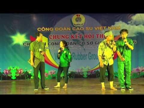 """Tiểu phẩm """"Bụng bầu, bầu bụng"""" - Nguyễn Lê Du - Công ty Cao suLộc Ninh"""