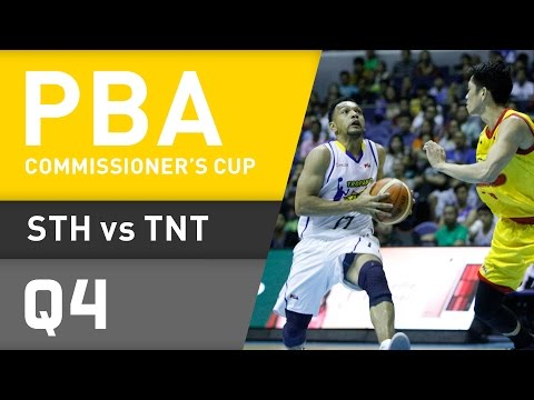 STAR VS. TNT - Q4 | Commissioner's Cup 2016