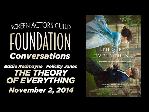 Conversations with Eddie Redmayne and Felicity Jones of THE THEORY OF EVERYTHING