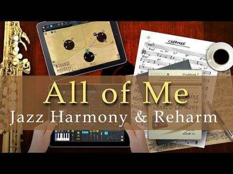 All of Me: Jazz Harmony & Reharmonizations Music Education Video