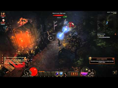 Diablo 3 gameplay walkthrough HD Dual Commentary – Part 1 – The Fallen Star