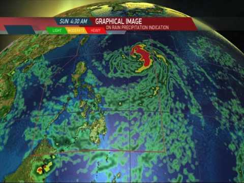 Tropical storm 'Megi' expected to enter PAR Saturday