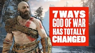 7 Huge Ways God of War Has Changed For The Better - New God of War Gameplay