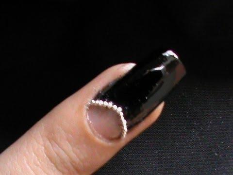 Chanel Nails Easy Half Moon