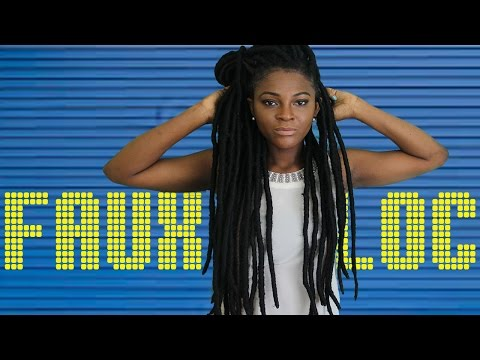 DIY Faux Locs with Cuban Twist | Fast Easy Method