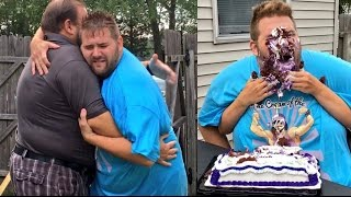 "GRIM AND HIS DAD REUNITED! HILARIOUS ""NOT MY HANDS"" CHALLENGE BIRTHDAY PARTY!"