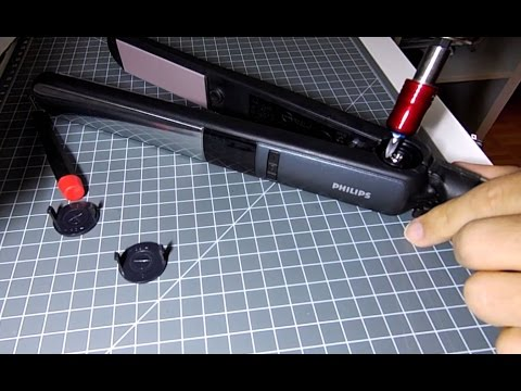 repair hair straightener philips salon pro fault finding