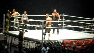 KEVIN NASH WRESTLING - WWE RAW HOUSE SHOW - 11/11/11 - O2 ARENA, LONDON