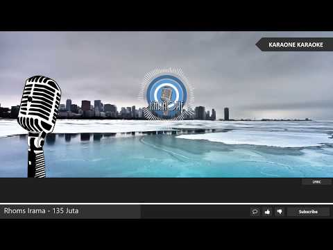 Rhoma Irama - 135 JUTA ( Seratus Tiga Puluh Lima Juta ) - Karaoke Lirik