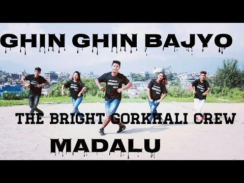THE  BRIGHT GORKHALI CREW SAMIR ACHARYA II GHIN GHIN BAJYO II  COVER VIDEO_Full-HD