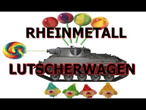 Rheinmetall Lutscherwagen | ACHTUNG! German tenk is OP, WG pliese nerf | World of Tanks