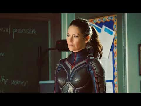 FIRST LOOK AT EVANGELINE LILLY IN FULL COSTUME IN ANT-MAN AND THE WASP
