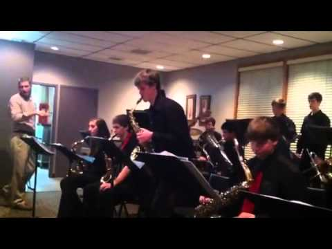 Iola High School Jazz Band Video #4