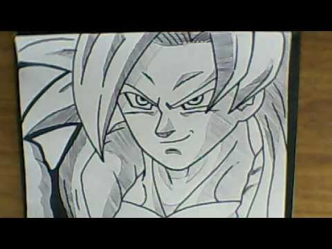 Drawing Gohan Ssj4 How to Draw Gogeta Ssj4