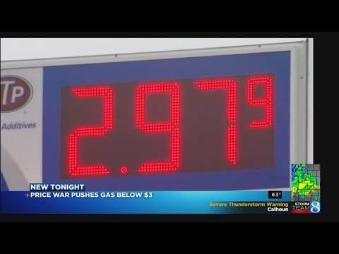 Gas under $3/gal and penny price wars