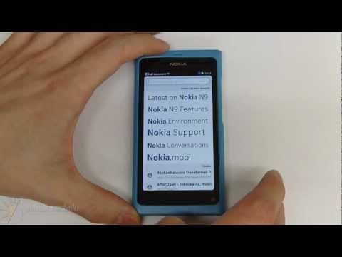 Nokia N9 PR1.2 Browser