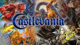 Castlevania Four Intros Remake Special (1080p 60Fps).
