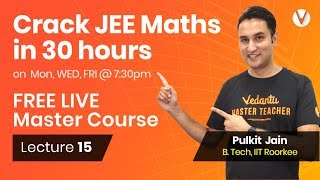 Application of Derivatives for JEE Maths   Problem Solving Tips for JEE Main & Advanced   Lecture 15