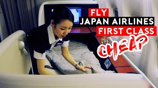 Fly Japan Airlines First Class REAL CHEAP!