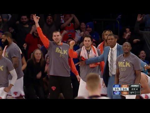 Quarter 4 One Box Video :Knicks Vs. 76ers, 1/18/2016 12:00:00 AM