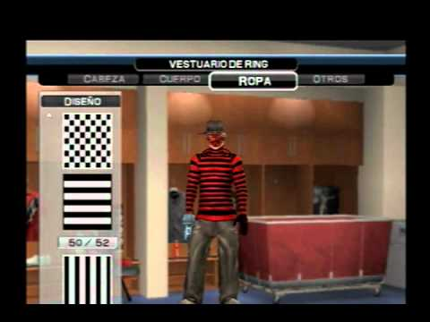 Wwe Smackdown vs Raw 2011 - How to create to Freddy Kruegger(Mi Caw)(PS2)
