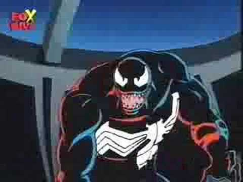 Spider-Man Cartoon Venom