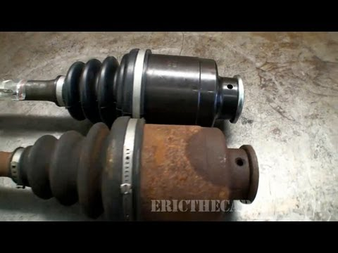 1997 Subaru Legacy Front Axle Replacement -EricTheCarGuy