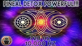 POWERFUL Things Happen When YOU Detox Your PINEAL GLAND Third Eye♢10000HZ Isochronic♢Ascension Waves