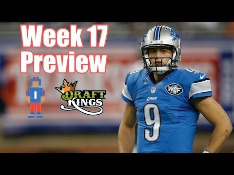 NFL Week 17 Preview & Picks - DraftKings