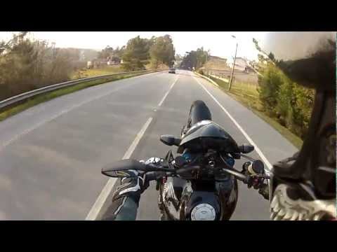 Honda CB1000R test drive / wheelies
