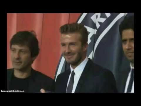 David Beckham Announces Retirement PSG / Yolun Sonu Dedi