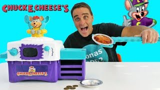 Chuck E Cheese's Pizza Factory Oven ! ||  Toy Review || Konas2002