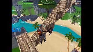 Fortnite building skills (best mobile player)
