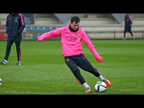 Training session (15/12/14): Rainy workout